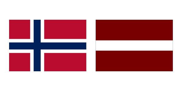 Norge vs. Letland